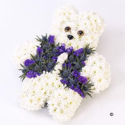 Teddy Bear Tribute   Blue