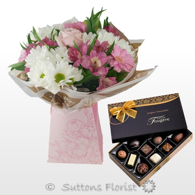 Pertie Pink Gift Box with Chocs