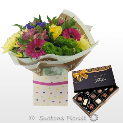 Petite Vibrant Gift Box with Chocs