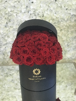 Signature Rose Hatbox