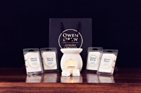 08. 4 X Owen Drew Luxury Wax Melts