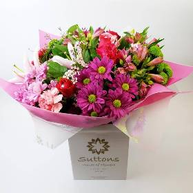 Bright Pinks Hand Tied