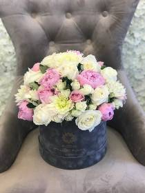 Summer Romance Luxury Hatbox