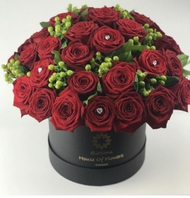 Rose & Hypericum Luxury Hatbox