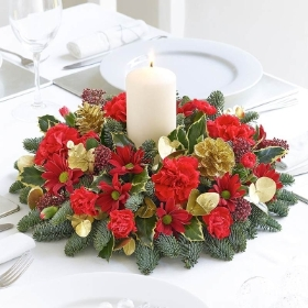 Festive Cheer Table Arrangement