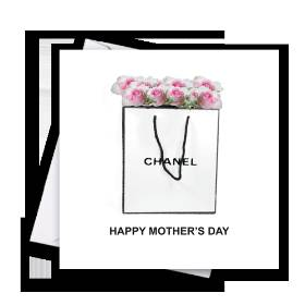 Happy Mothers Day Chanel Card