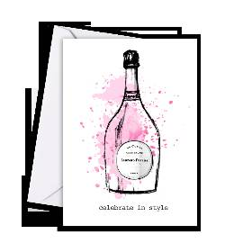 Laurent Perrier Greetings Card