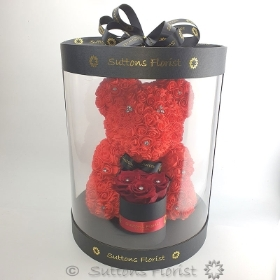 Luxury Red Bear & Eternity