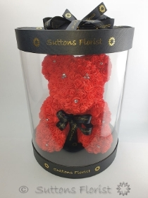 Luxury Red Rose Bear