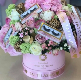 The Tatti Lashes Luxury Hatbox